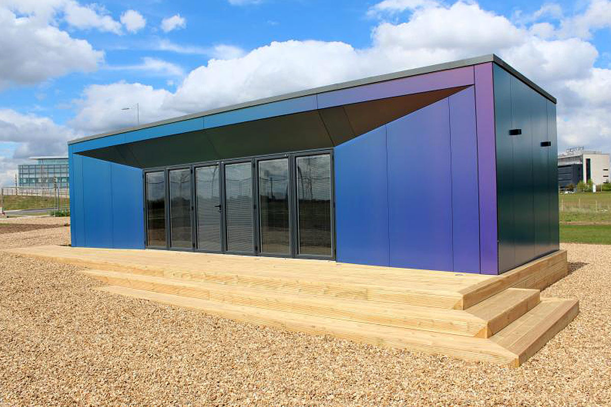 Easypad foundation system for modular buildings